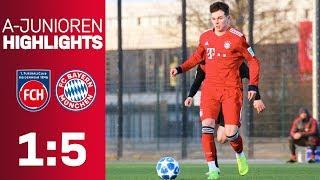 FC Bayern beat 1. FC Heidenheim 5-1! | Highlights - U19 Bundesliga 2018/19