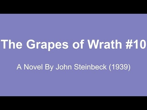 The Grapes of Wrath Audio Books - A Novel By John Steinbeck (1939) #10