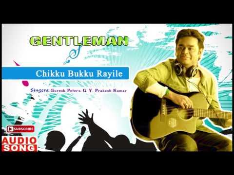 Chikku Bukku Rayile Song | Gentleman Tamil Movie | Arjun | Madhoo | AR Rahman | Music Master