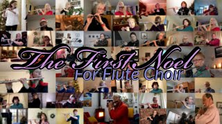 The First Noel For Flute Choir