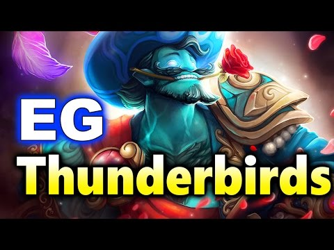 EG vs THUNDERBIRDS - Broken Keyboard! KIEV MAJOR DOTA 2
