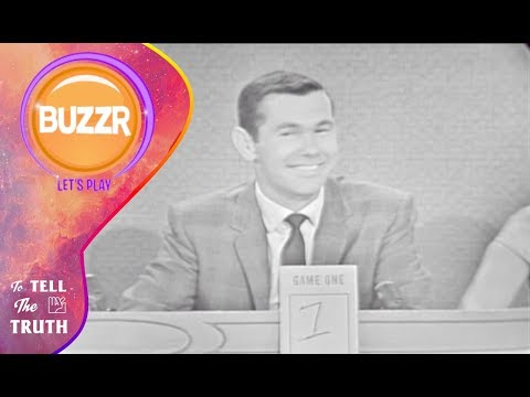 To Tell The Truth 1961 with Johnny Carson & Tom Poston  Buzzr