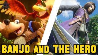 THE HERO and BANJO-KAZOOIE | Reveal Breakdown - Super Smash Bros. Ultimate