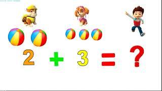 Математика для детей от 3х до 5 лет. мультфильм