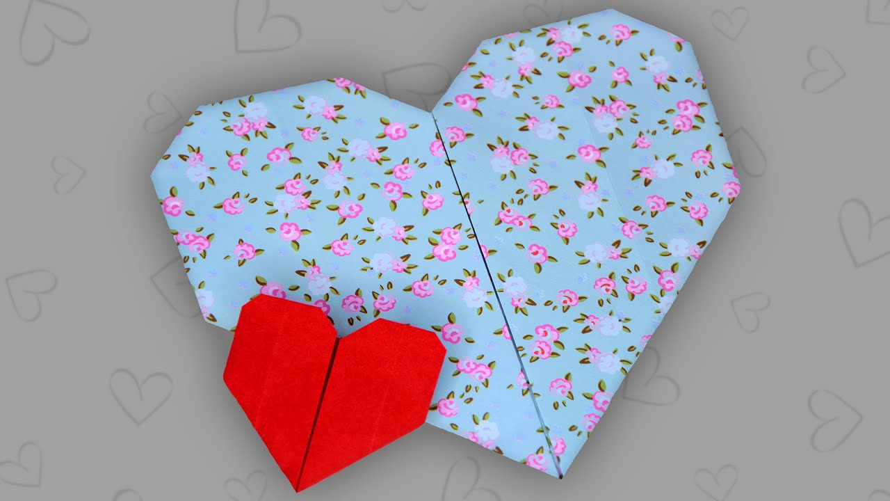 origami herz einfach easy heart faltanleitung live erkl rt youtube. Black Bedroom Furniture Sets. Home Design Ideas