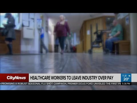Thousands Of PSWs, Nurses Look To Leave Industry Over Pay