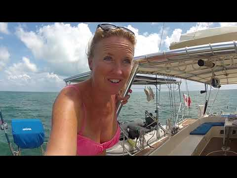 SE3 EP76 Dangerous narrow passages in Southern Cuba. Don't get stuck out here!