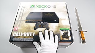 "Xbox One ""Call of Duty Advanced Warfare"" Console Unboxing (Limited Edition)"