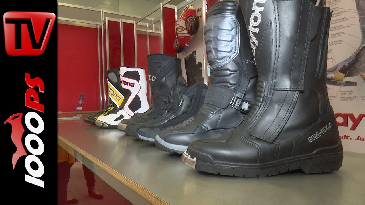 DAYTONA Motorradstiefel JOURNEY GTX XCR Gore Tex Stiefel