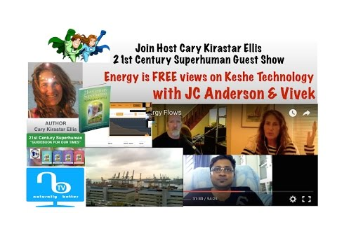 Energy is FREE 1 - views on Keshe Technology with JC & Vivek  - 21st Century Superhuman Show