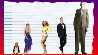 How tall is shakira? - height comparison!
