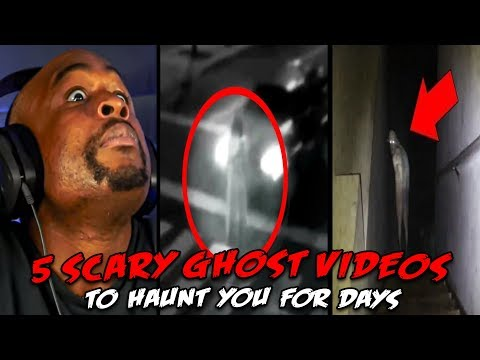 5 Scary Ghost Videos to HAUNT You For DAYS REACTION!