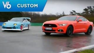 Nissan Silvia - Les essais custom de V6