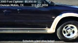2000 Ford Explorer Eddie Bauer AWD for sale in PFLUGERVILLE,