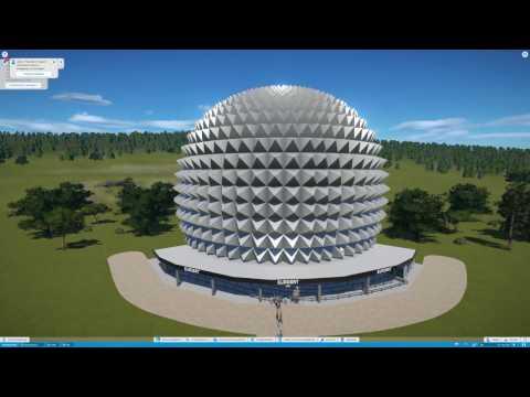 Eurosat (Europa Park) Planet Coaster