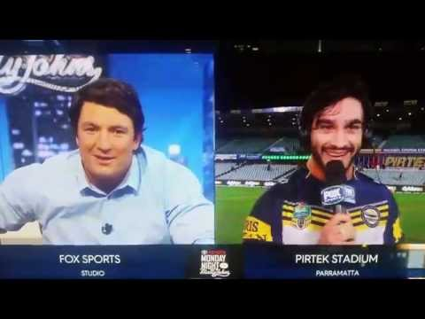 Thurston and Hindy Post Match