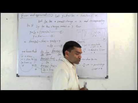 Approximation of Error in Hindi