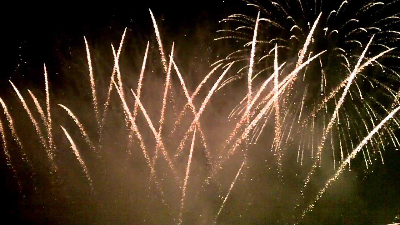 Fireworks on Memorial Day 2012 on Longwood Gardens, PA - YouTube