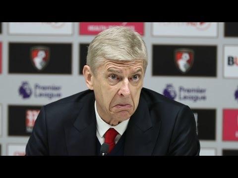 Bournemouth 3-3 Arsenal - Arsene Wenger Full Post Match Press Conference
