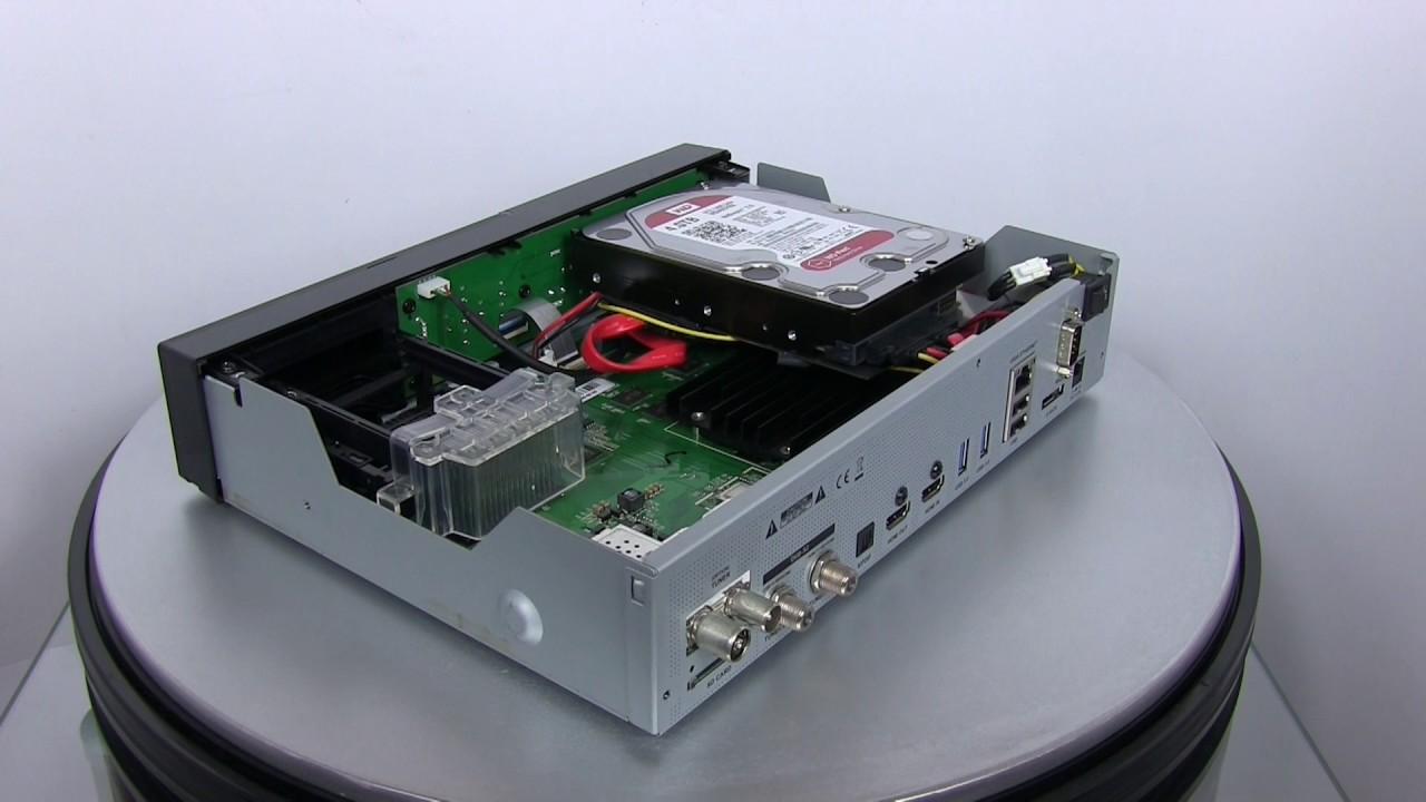 gigablue quad 4k  Gigablue UHD Quad 4K - Multiroom - YouTube