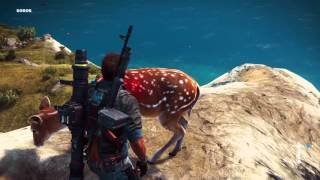 Just Cause 3 Deer Hunting