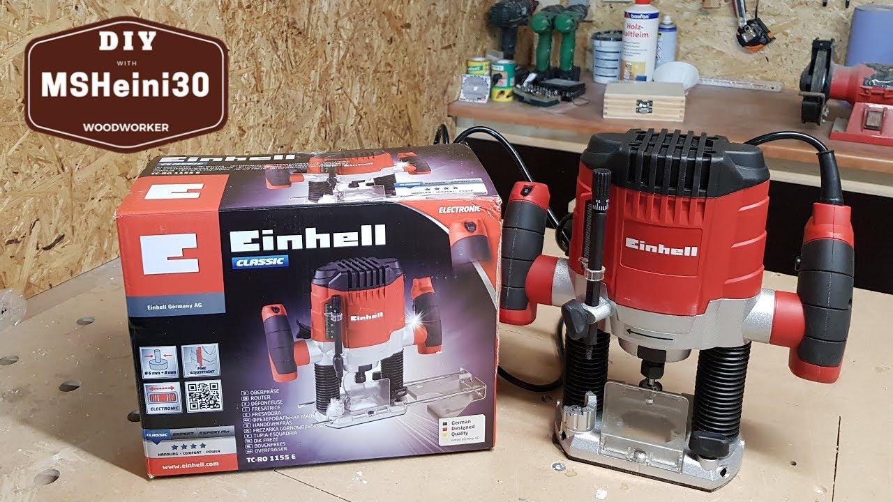 Einhell Défonceuse TH-RO 1100 E 1100 W