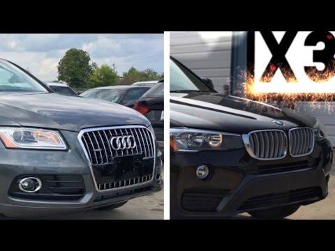 2017 BMW X3 Vs 2017 Audi Q5 REVIEW, Exhaust, Comparison