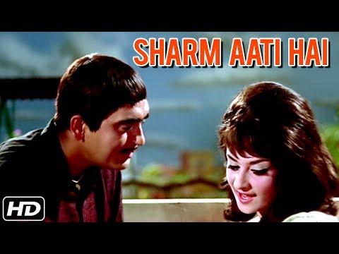 Sharam Aati Hai Video Song | Padosan | Sunil Dutt, Saira Banu | Lata  Mangeshkar | R D  Burman