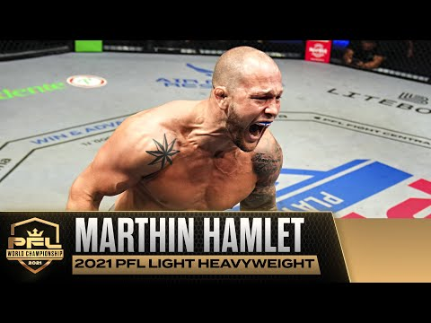World Title Win for Marthin Hamlet Could Catapult Norway to Legalize MMA   2021 PFL Championship