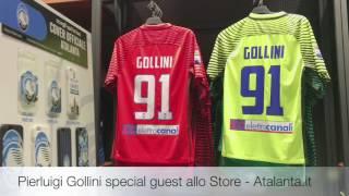 pierluigi gollini special guest all atalanta store il 25 gennaio