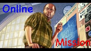 GTA5 Online Mission: Crime Scenester (Lester) Grand Theft Auto 5 Game Play
