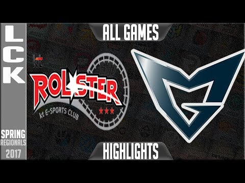 KT Rolster vs Samsung Galaxy Highlights ALL GAMES LCK Regionals Worlds Qualifier Final 2017 KT vs SS