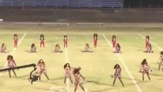 Dancing Dolls pom pom routine: Previous season ago.