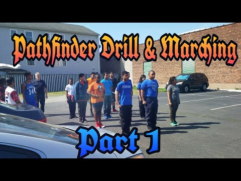 Pathfinder Clubs Zone 1 & 2: Drill & Marching - Training Part 1