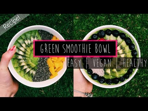Big Eco-friendly Smoothie Bowl