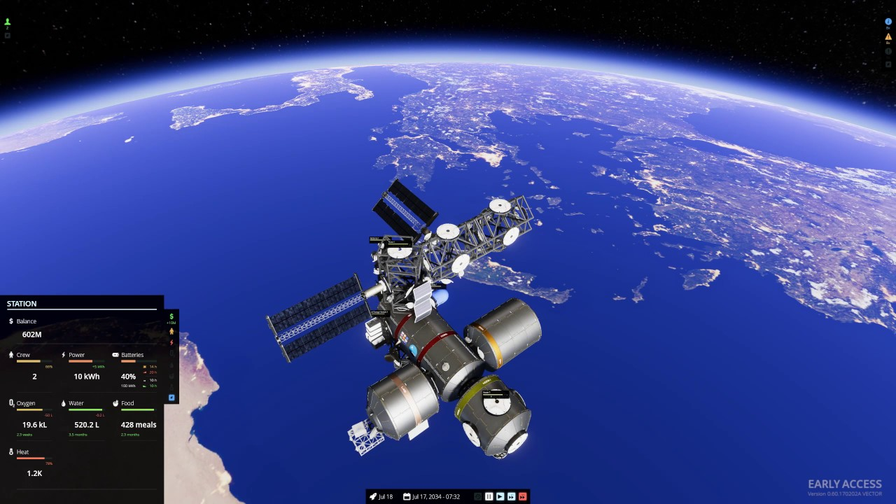 Stable Orbit - Space Station Building for Science - YouTube