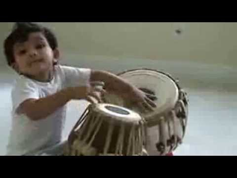 Talented Kid - God Gifted Kid playing Tabla