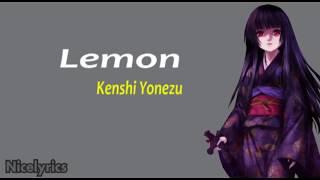 Gambar cover Lagu Jepang Enak Didengar | Lemon - Kenshi Yonezu | Terjemahan Lyrics Indonesia