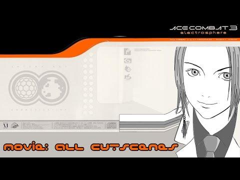 Ace Combat 3: All cutscenes Remastered HD +Bonus (JAP)