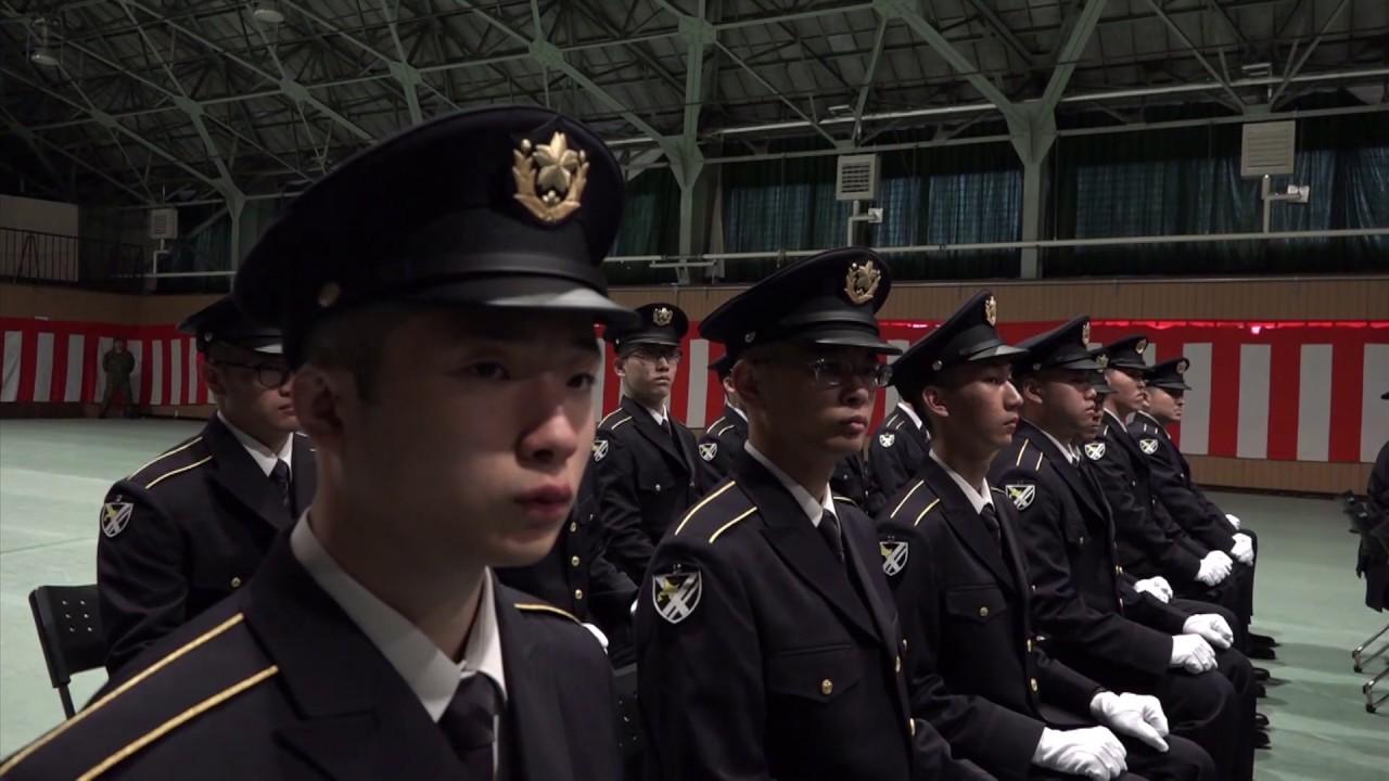 【自衛官候補生入隊式】滝川に集いし「国家の宝」の若者たち