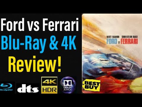 Ford Vs Ferrari 2019 Blu Ray 4k Review Youtube