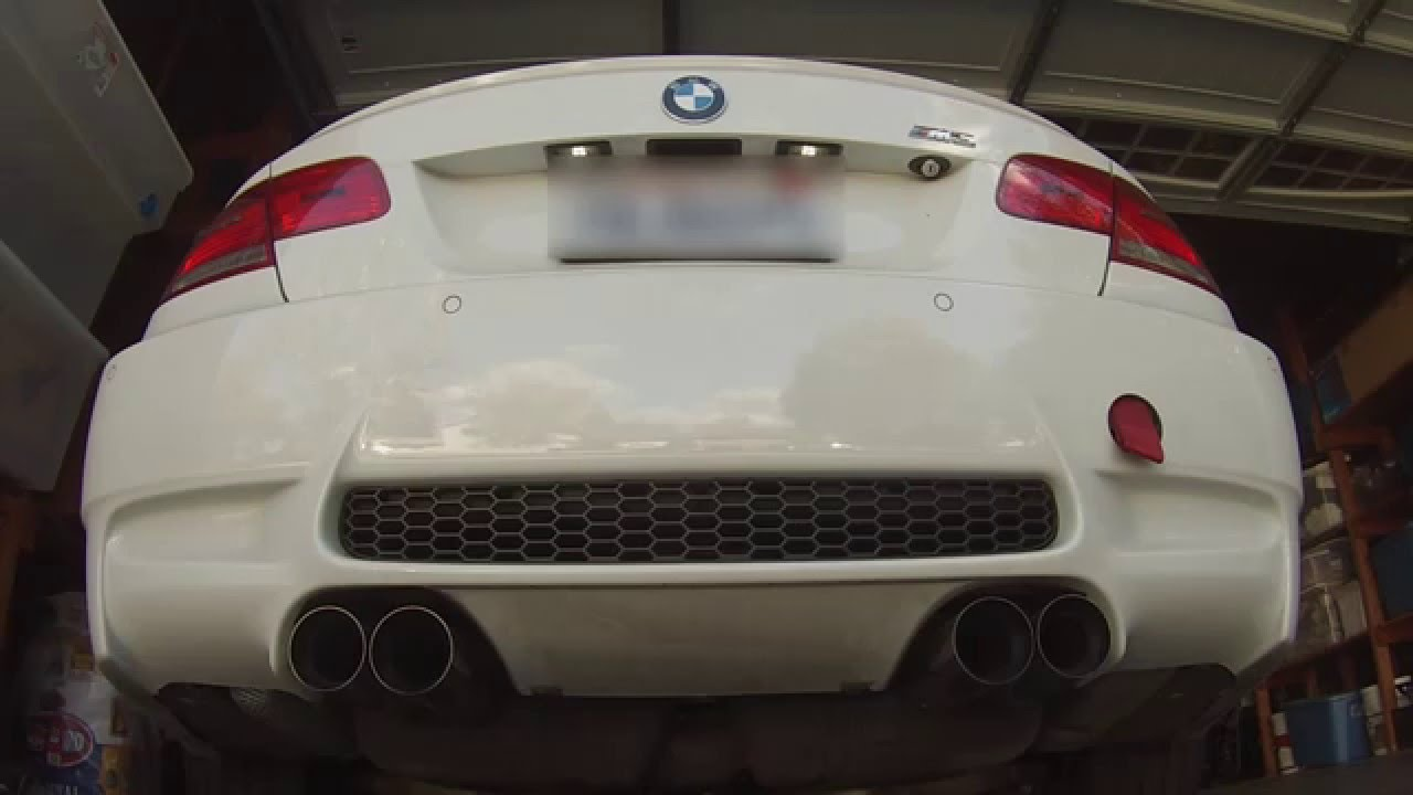 e92 m3 m performance exhaust cold start revving youtube. Black Bedroom Furniture Sets. Home Design Ideas