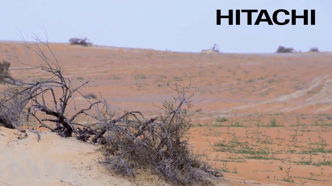 Challenge Hitachi solar powered desalination plants Abu Dhabi