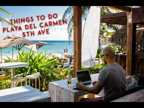 Playa del Carmen - Things to do - 5th Ave
