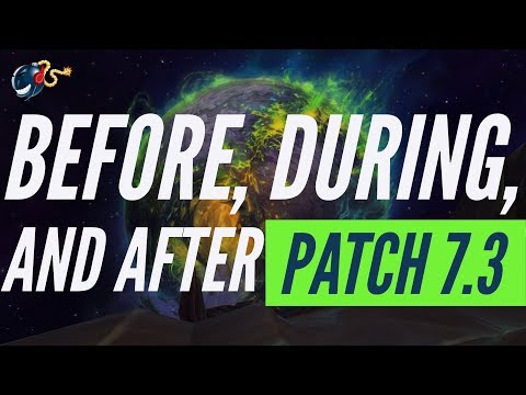WoW Legion| PATCH 7.3 - Prep BEFORE, DURING + New Profession Changes, Items! Coffee Talk Ep.17