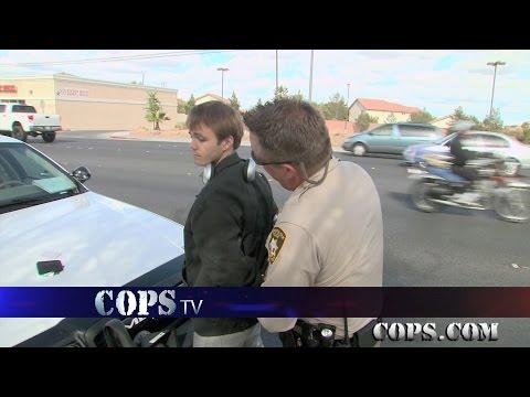 Roadside Ruckus, Officer Blake Goddard, COPS TV SHOW