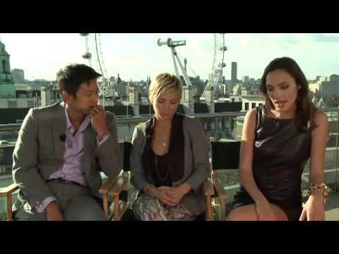 Fast & Furious 6 Interview Elsa Pataky, Sung Kang & Gal ...