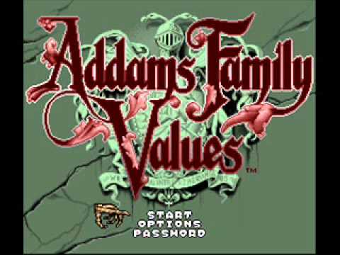 Addams Family Values - Blizzard - SNES Music