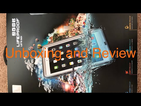 Unboxing And Review of Lifeproof FRE for iPad Air
