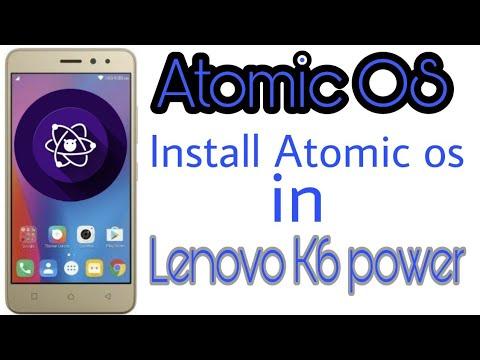 How to install Multirom Twrp ?? In Lenovo k6 Power